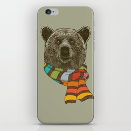 Winter Bear iPhone Skin