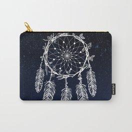 dreamcatcher night sky indigo constellations Carry-All Pouch