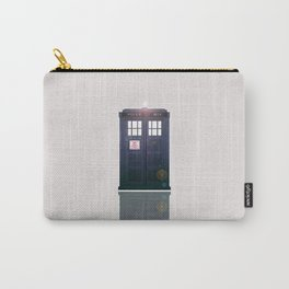 The Tardis Light Carry-All Pouch