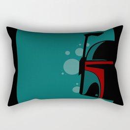 The Hunter's Helm Rectangular Pillow