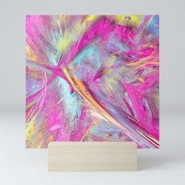 Color abstract Mini Art Print