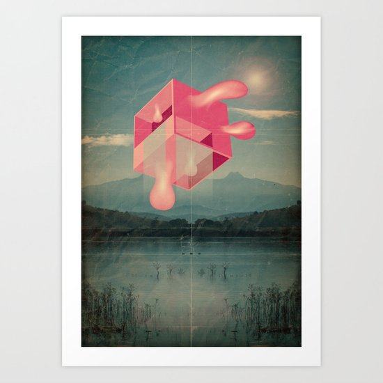 bucolico cubolo Art Print
