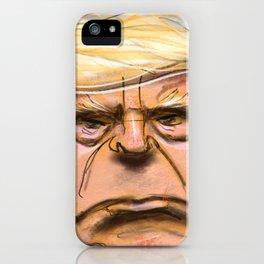 Big Trump iPhone Case