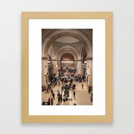 Metropolitan Museum of Art, NYC Framed Art Print