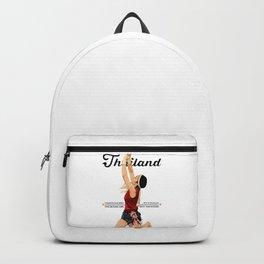 Muay Thai Lady Wai Kru Backpack