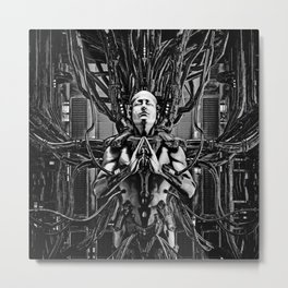 Soul of the Machine Metal Print