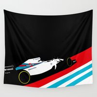 martini Wall Tapestries featuring Fw36  by Cale Funderburk