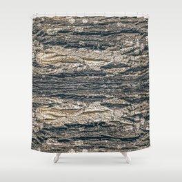 Surface Texture Print Shower Curtain