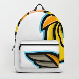 Valkyrie Warrior Mascot Backpack