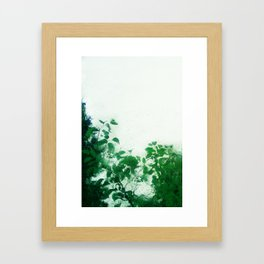 Spring Fresh Rain Framed Art Print