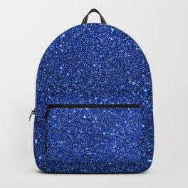 Cobalt Blue Glitter Backpack