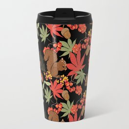 Autumn squirrel Travel Mug