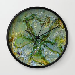 Natures Art Ten Wall Clock