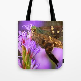Flashy Long-Tailed Skipper Tote Bag