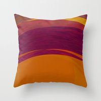 bohemian Throw Pillows featuring Bohemian by Orton and Ball