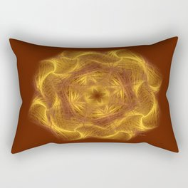 Spiritual art - Wheel of dharma Rectangular Pillow