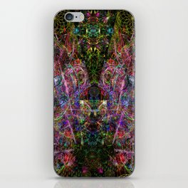 Third Mind Wiring (abstract, psychedelic, visionary) iPhone Skin