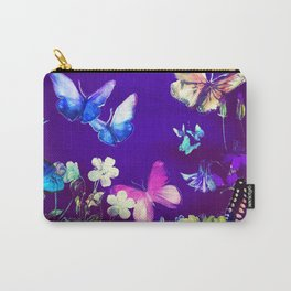 Night Butterflies Carry-All Pouch