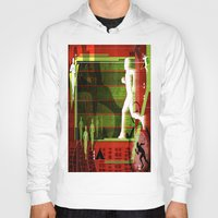 running Hoodies featuring Running by Robin Curtiss