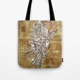 Human Rebirth Tote Bag