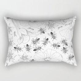 Honeybees and co. Rectangular Pillow