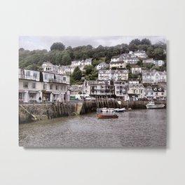 Looe Cornwall Metal Print