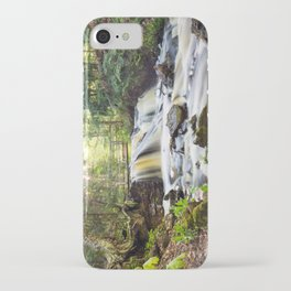 Upper Chapel Falls at Pictured Rocks National Lakeshore - Michigan iPhone Case
