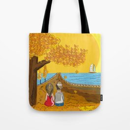 port love Tote Bag