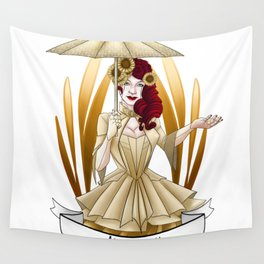 Steampunk Occupation Series: Automaton Wall Tapestry