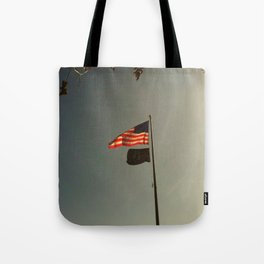 Freedom Flag Tote Bag