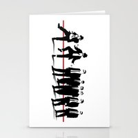 reservoir dogs Stationery Cards featuring Reservoir Brothers by The Cracked Dispensary