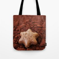 chocolate Tote Bags featuring Chocolate by LebensART Photography