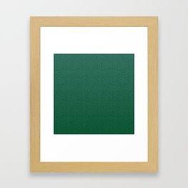 Mei Skin Jade Pattern Framed Art Print