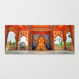Golden Temple Laos Canvas Print