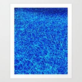 Beach. Please. Art Print