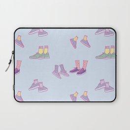 Pastel Walking Sneakers Laptop Sleeve