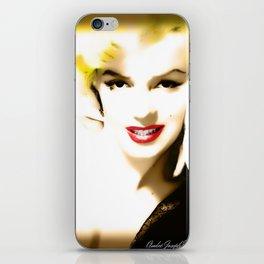 Portrait of  Marilyn Monroe iPhone Skin