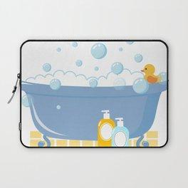 Bubble Bath Tub Laptop Sleeve