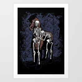 Anatomy of a Fake Horse Art Print