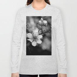 Blackberry Flower Long Sleeve T-shirt