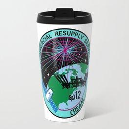 SpX-12 Logo Travel Mug