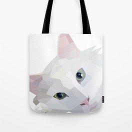 Minimalist Meows Tote Bag