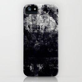 dark days on a train iPhone Case