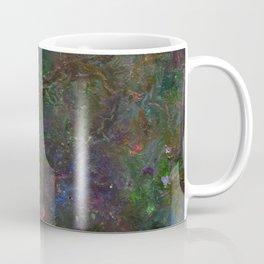 Purple Green Marble Coffee Mug