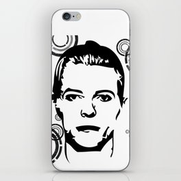 Thin White Duke iPhone Skin