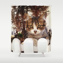 Sweet Cat Shower Curtain