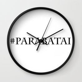 #Parabatai Wall Clock