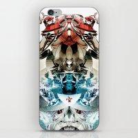 transformer iPhone & iPod Skins featuring Vacío by Andre Villanueva