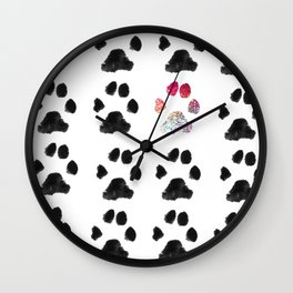 Adopt. Dont. Shop. Typography Wall Clock