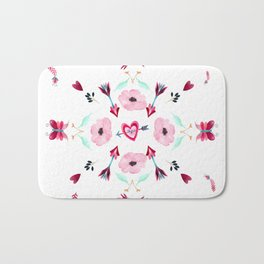 Love Mandala Bath Mat
